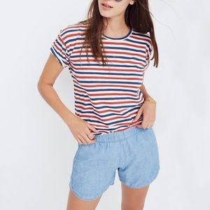 Madewell Whisper Cotton Crewneck Tee J8996